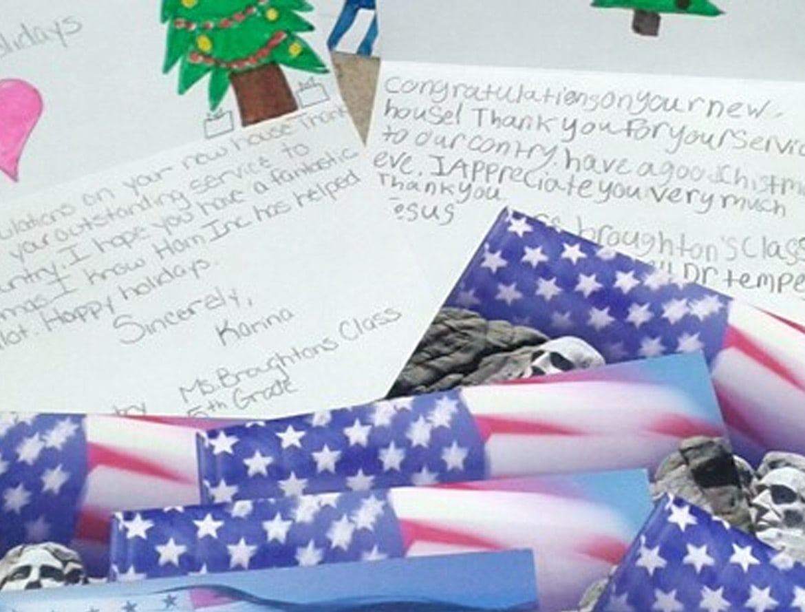 veterans blog - 5th Graders Bring Holiday Cheer to Formerly Homeless Veterans