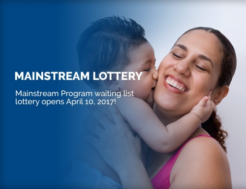 Mainstream Program Waiting List Opening