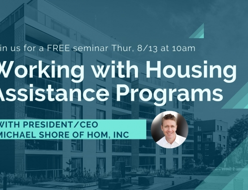 Working with HOM Housing Programs Webinar
