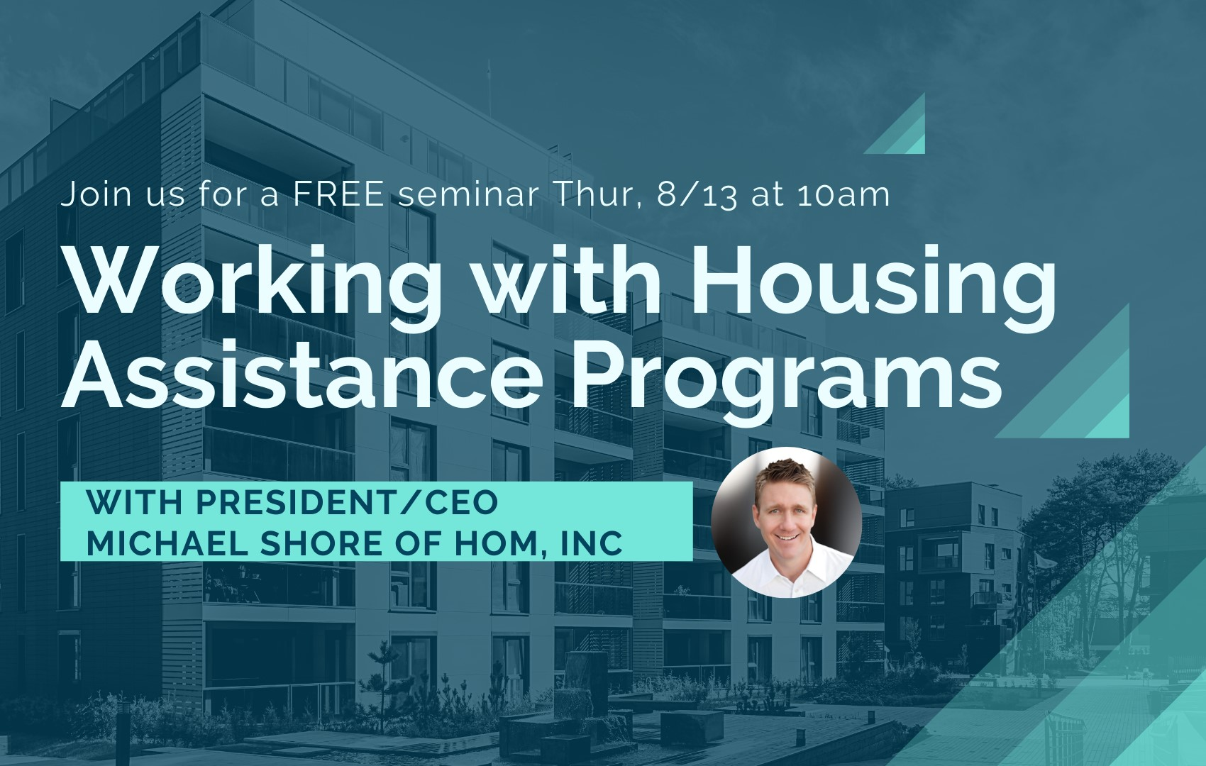 AMA HOM Webinar - Working with HOM Housing Programs Webinar